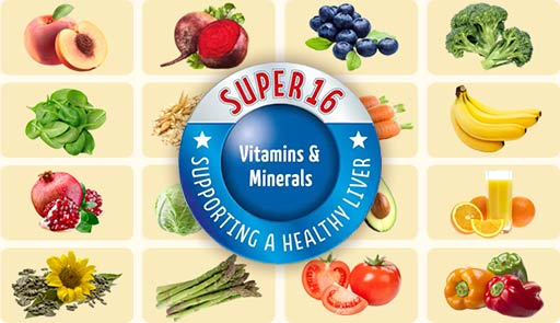 Super 16 Vitamins & Minerals